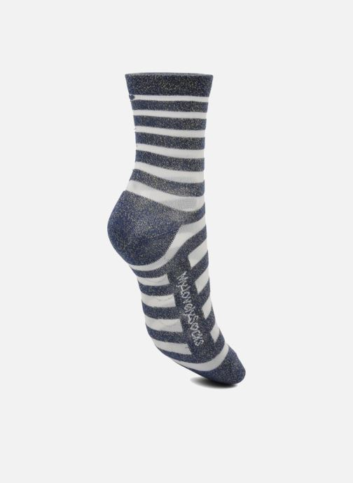 Calze e collant My Lovely Socks Faustine Azzurro immagine sinistra