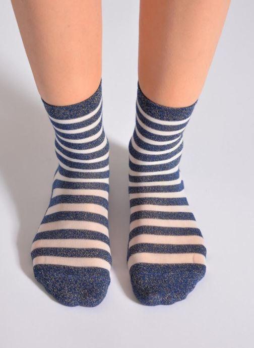 Socken & Strumpfhosen My Lovely Socks Faustine blau ansicht von oben