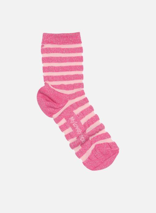 Chaussettes et collants My Lovely Socks Chaussettes Mixte Faustine Rose vue détail/paire