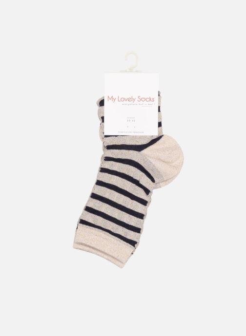 Chaussettes et collants My Lovely Socks Chaussettes Mixte Faustine Multicolore vue droite