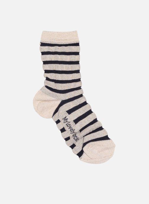Chaussettes et collants My Lovely Socks Chaussettes Mixte Faustine Multicolore vue détail/paire