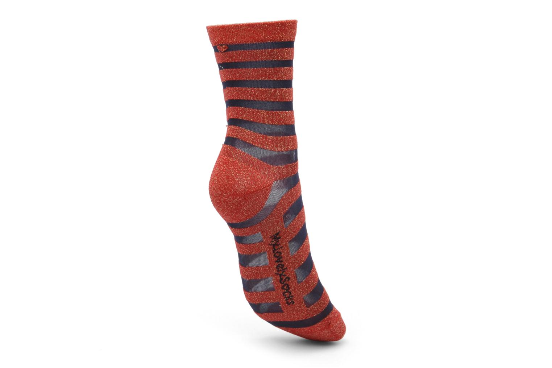 Chaussettes et collants My Lovely Socks Chaussettes Mixte Faustine Rouge vue gauche