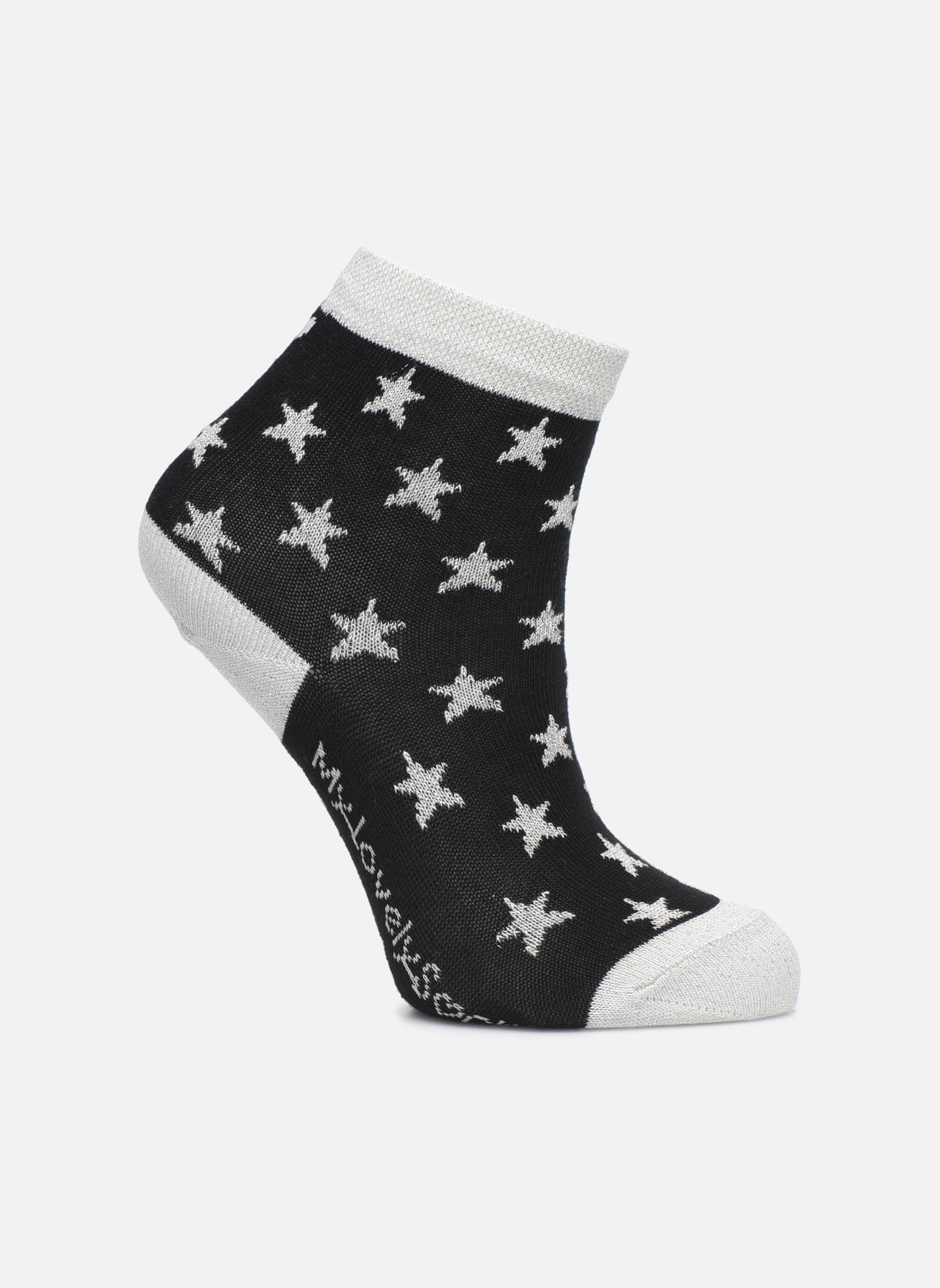 Chaussettes et collants My Lovely Socks Chaussettes Mixte Celeste Noir vue détail/paire