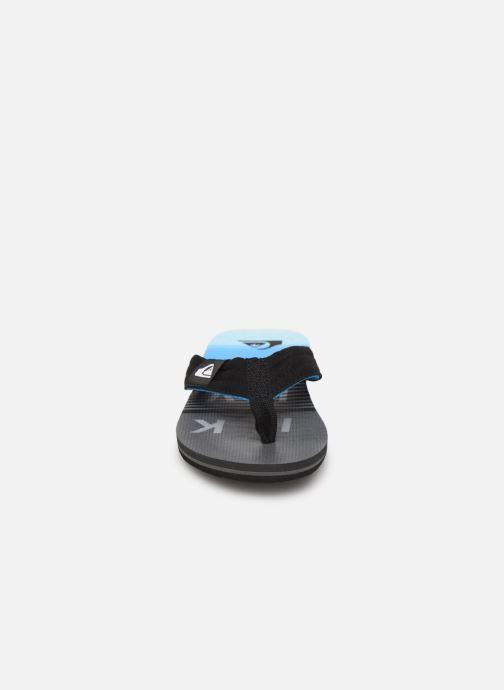 Flip flops Quiksilver MOLOKAI LAYBACK YOUTH Blue model view