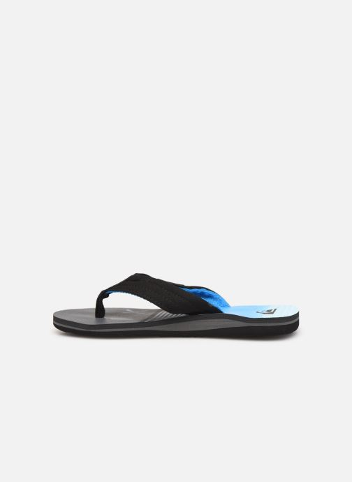 Flip flops Quiksilver MOLOKAI LAYBACK YOUTH Blue front view