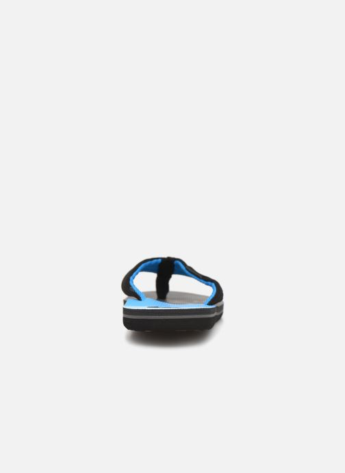 Flip flops Quiksilver MOLOKAI LAYBACK YOUTH Blue view from the right