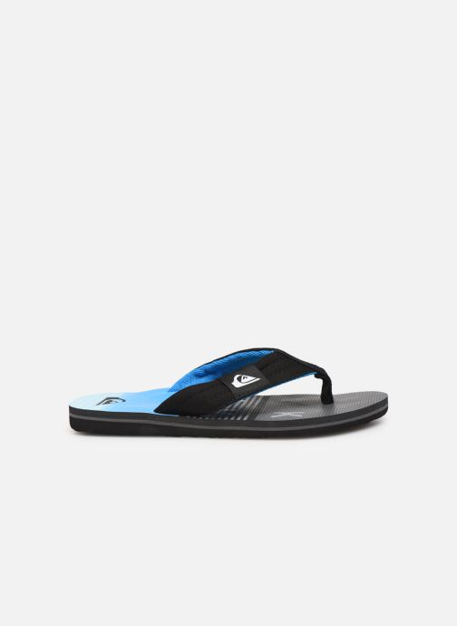 Flip flops Quiksilver MOLOKAI LAYBACK YOUTH Blue back view