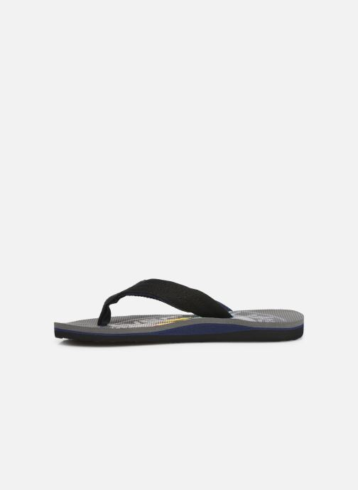 Flip flops Quiksilver MOLOKAI LAYBACK YOUTH Grey front view