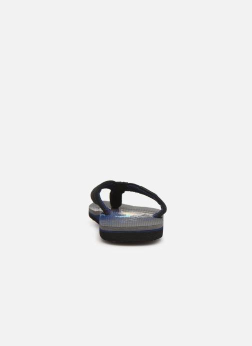 Flip flops Quiksilver MOLOKAI LAYBACK YOUTH Grey view from the right