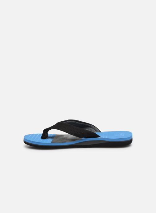 Chanclas Quiksilver MOLOKAI LAYBACK YOUTH Azul vista de frente