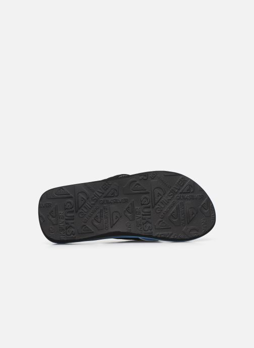 Tongs Quiksilver MOLOKAI LAYBACK YOUTH Bleu vue haut