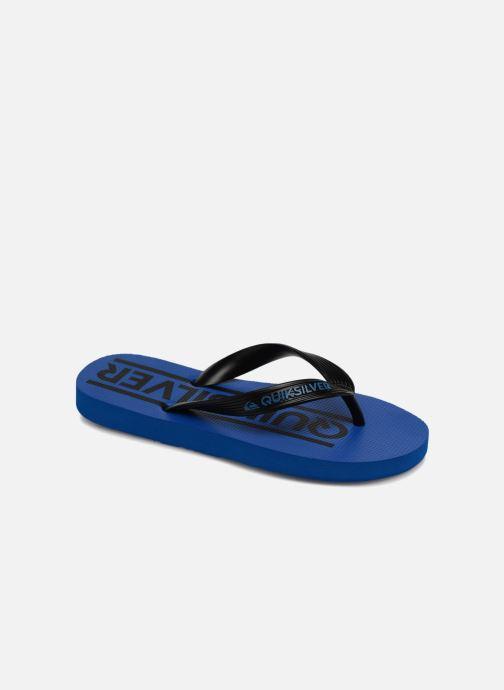 Flip flops Quiksilver JAVA WORDMARK YOUTH Blue detailed view/ Pair view