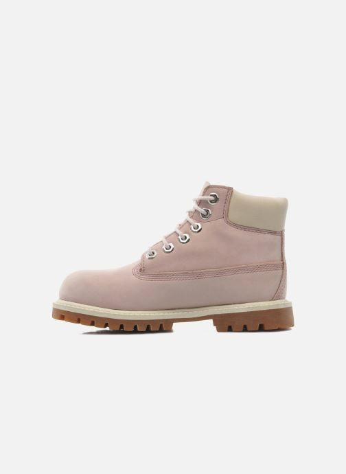 Stiefeletten & Boots Timberland 6IN PREM WP BT rosa ansicht von vorne