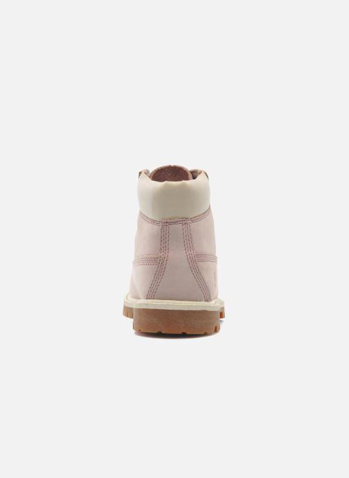 Stiefeletten & Boots Timberland 6IN PREM WP BT rosa ansicht von rechts