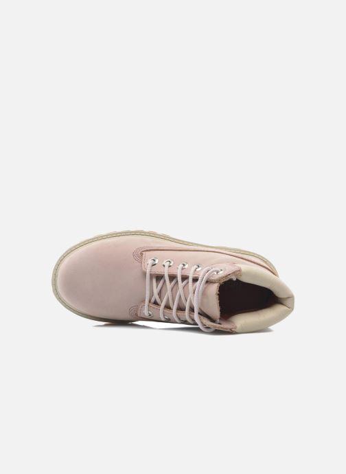 Stiefeletten & Boots Timberland 6IN PREM WP BT rosa ansicht von links