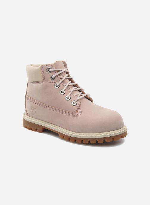 Bottines et boots Timberland 6IN PREM WP BT Rose vue détail/paire