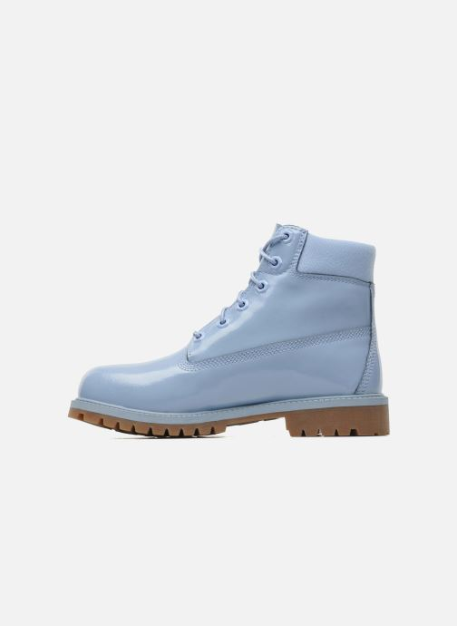 Bottines et boots Timberland 6IN PREM WP LT Bleu vue face