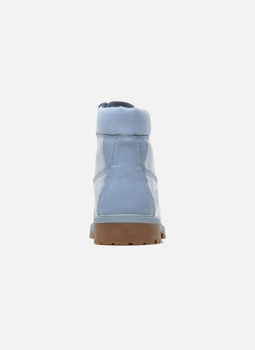 Bottines et boots Timberland 6IN PREM WP LT Bleu vue droite