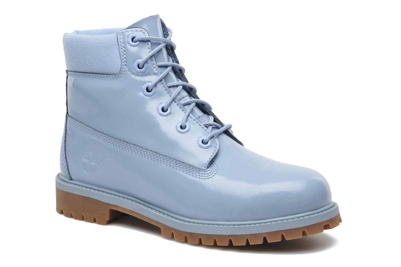 Bottines et boots Timberland 6IN PREM WP LT Bleu vue détail/paire