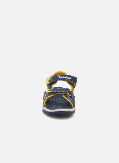 Sandali e scarpe aperte Timberland Adventure Seeker 2 Strap Azzurro modello indossato