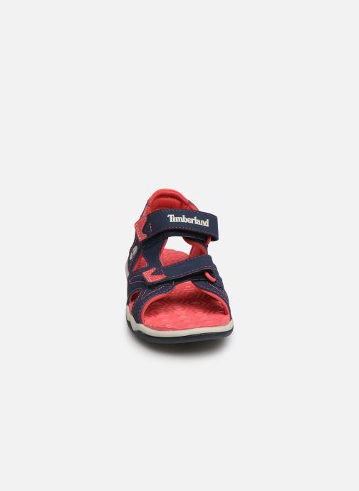 Sandales et nu-pieds Timberland Adventure Seeker 2 Strap Bleu vue portées chaussures
