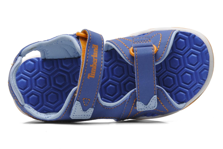 Sandales et nu-pieds Timberland Adventure Seeker 2 Strap Bleu vue gauche