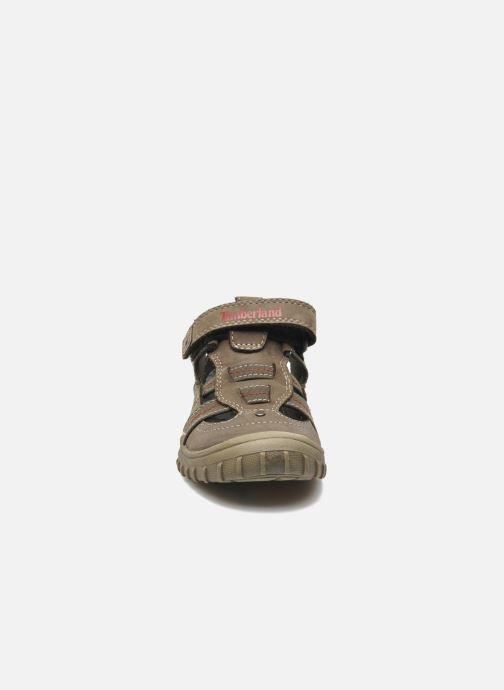 Baskets Timberland Castleton Fisherman Gris vue portées chaussures