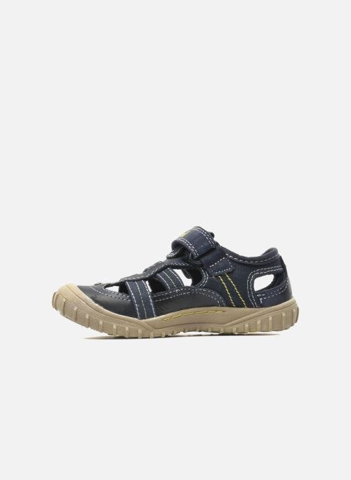 Sneakers Timberland Castleton Fisherman Blauw voorkant