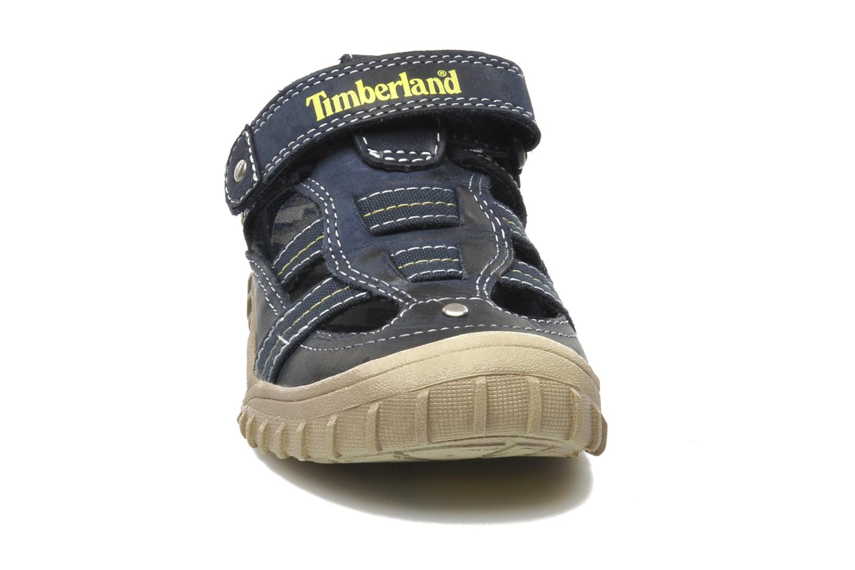 Baskets Timberland Castleton Fisherman Bleu vue portées chaussures