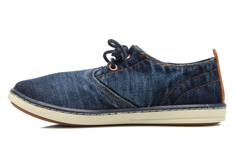 Sneaker Timberland Hookset Handcrafted Ox blau ansicht von vorne