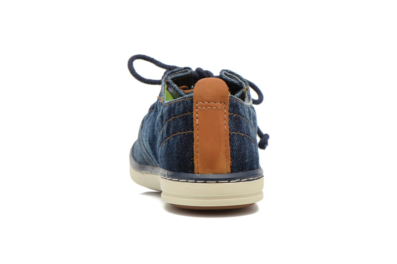 Sneaker Timberland Hookset Handcrafted Ox blau ansicht von rechts