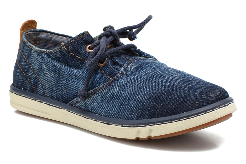 Sneaker Timberland Hookset Handcrafted Ox blau detaillierte ansicht/modell