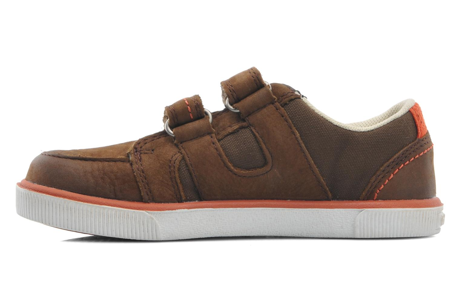 Velcro shoes Timberland SLMCPSL EKF/LH LOXBR Brown front view
