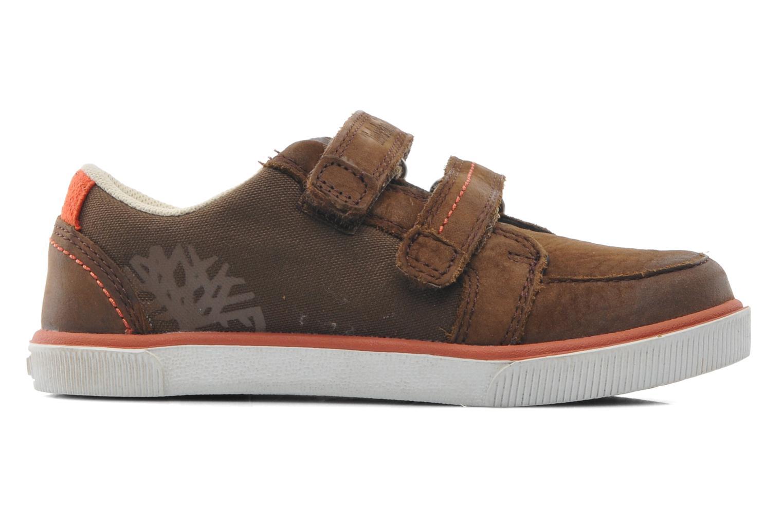 Velcro shoes Timberland SLMCPSL EKF/LH LOXBR Brown back view