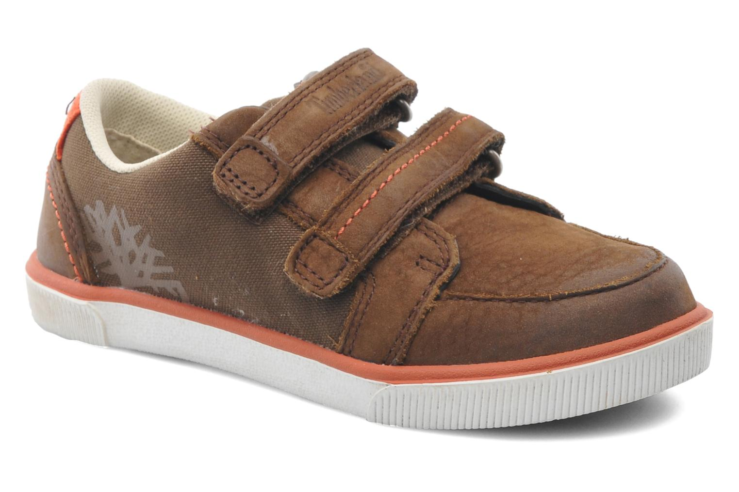 Velcro shoes Timberland SLMCPSL EKF/LH LOXBR Brown detailed view/ Pair view