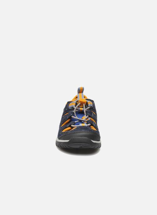 Baskets Timberland ZIP TRAIL FSHRMN Bleu vue portées chaussures