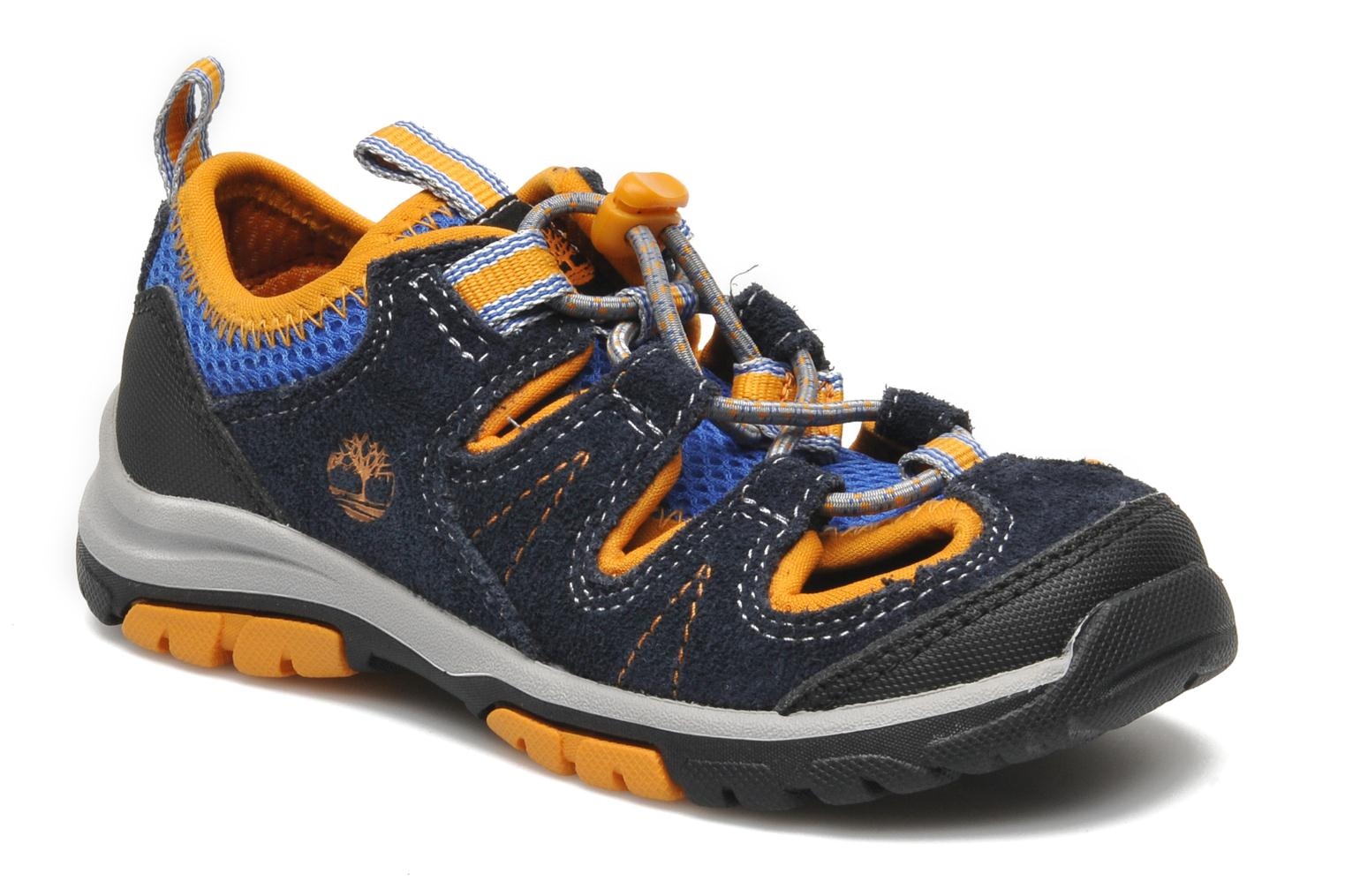 Trainers Timberland ZIP TRAIL FSHRMN Blue detailed view/ Pair view