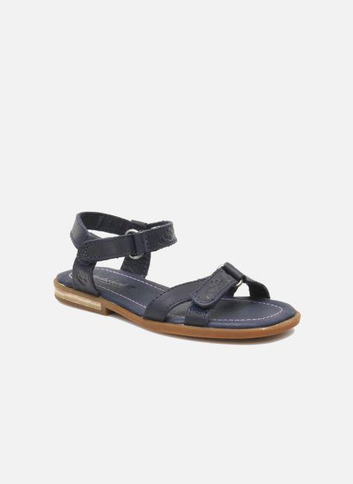 Sandales et nu-pieds Timberland WLLWBRK XBNDSNDL Bleu vue détail/paire