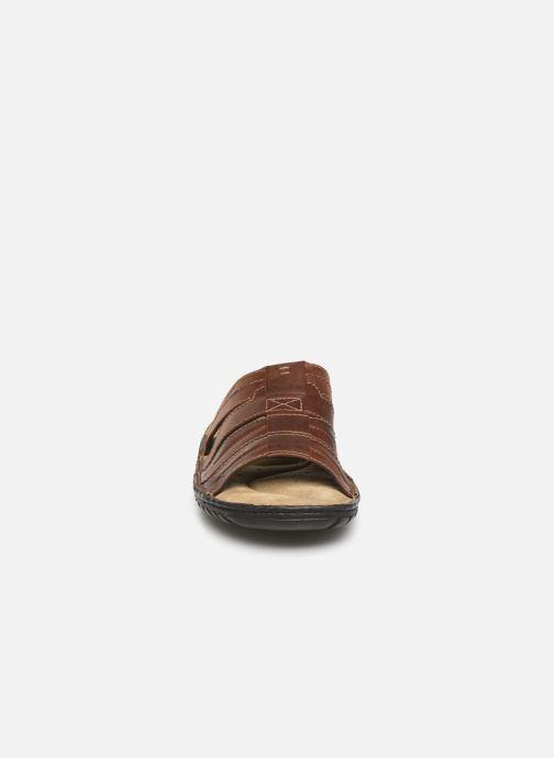 Sandales et nu-pieds Geox U Rufus B Marron vue portées chaussures