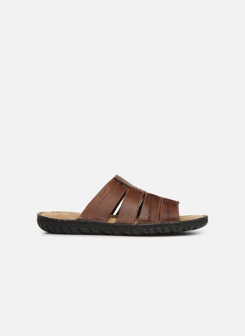Sandales et nu-pieds Geox U Rufus B Marron vue derrière