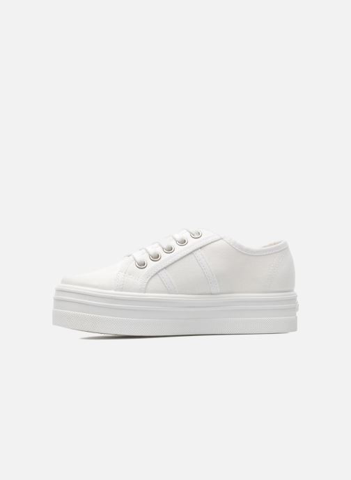 Sneakers Victoria Blucher Lona Plataforma Kids Wit voorkant