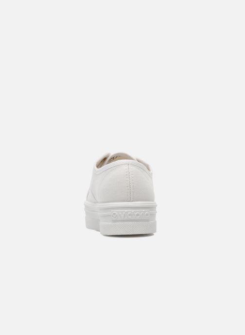 Baskets Victoria Blucher Lona Plataforma Kids Blanc vue droite