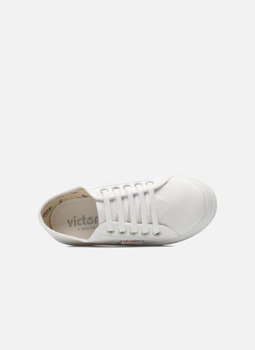 Sneaker Victoria Blucher Lona Plataforma Kids weiß ansicht von links