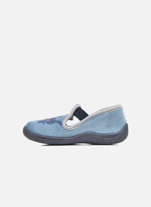 Pantoffels Rondinaud DEFI Blauw voorkant