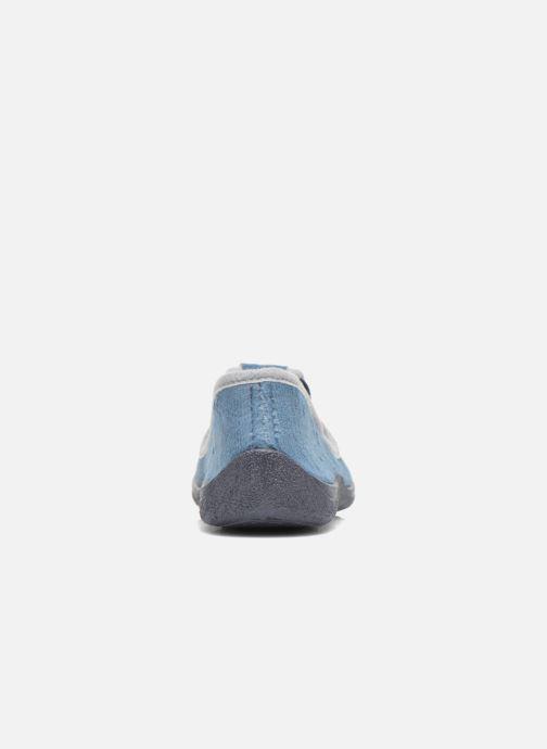 Chaussons Rondinaud DEFI Bleu vue droite