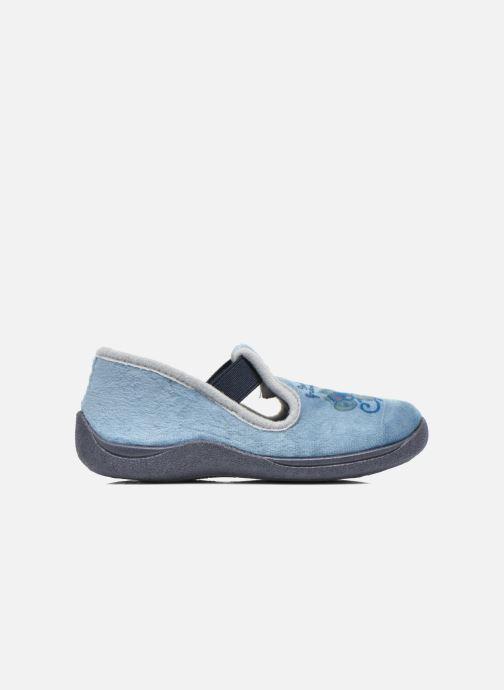 Pantoffels Rondinaud DEFI Blauw achterkant