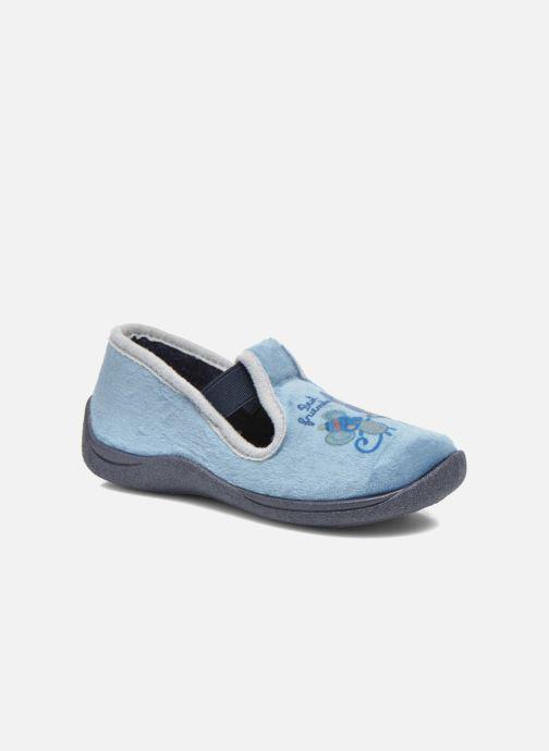 Pantoffels Rondinaud DEFI Blauw detail
