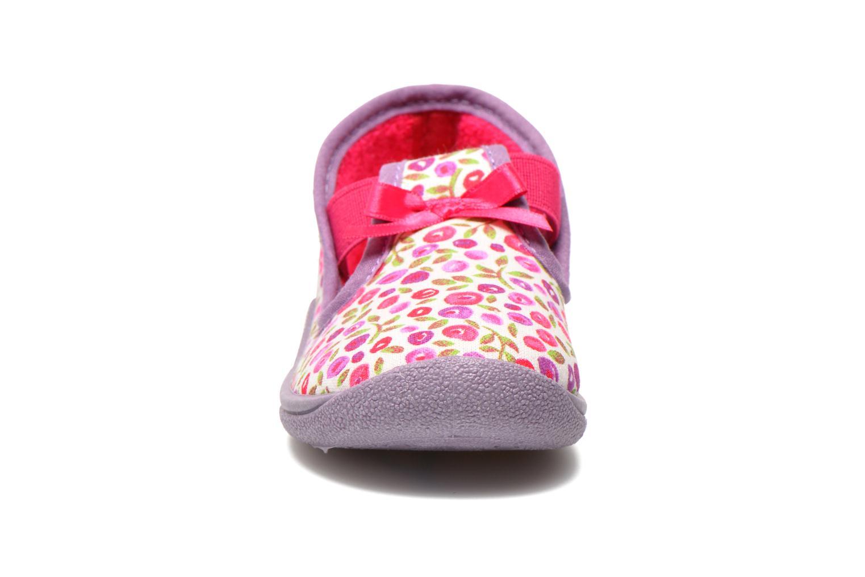 Chaussons Rondinaud DEFI Blanc vue portées chaussures