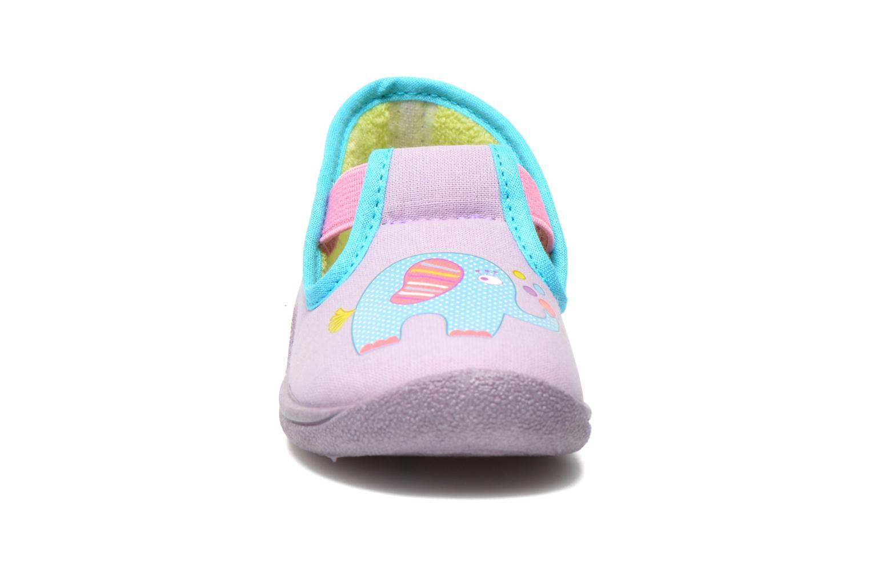 Chaussons Rondinaud DEFI Violet vue portées chaussures