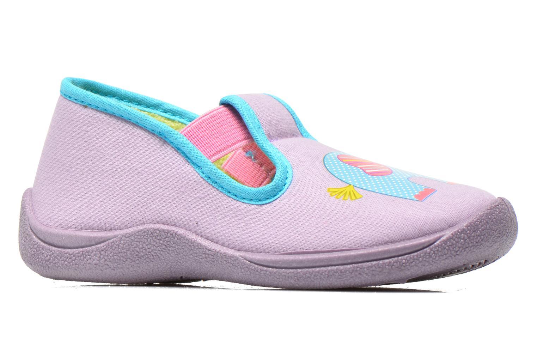 Pantofole Rondinaud DEFI Viola immagine posteriore